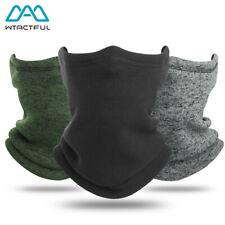 Зимний флисовый утеплитель шеи гетры лыжная холодной погоды лицевая маска тепловая трубка шарф
