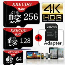 256GB Universal Micro SD SDXC TF Flash Memory Card 4K Fast Class 10 with Adapter