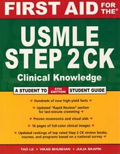 First Aid for the USMLE Step 2 CK (First Aid USMLE