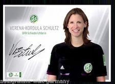 Verena-Kordula Schultz DFB Schiedsrichter AK TOP Original Signiert +A 58608