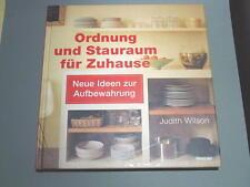 ORDNUNG UND STAURAUM FÜR ZUHAUSE - Judith Wilson