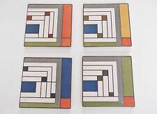 Frank Lloyd Wright HAROLD PRICE JR. RUG Design  COASTERS Absorbent CoasterStone