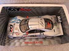 MAISIO 1:18 1997 GREG MOORE AUTOGRAPHED Mercedes-Benz CLK-GTR #12 GT RACING