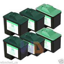 6 PACK Lexmark Ink Cartridge 16 26 High Capacity LEXMARK 16 26 Reman #16 #26
