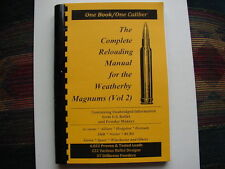 Weatherby Magnums Vol 2 The Complete Reloading Manual Load Books Latest Version