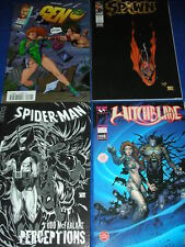 BD spiderman SEMIC spawn n°38 GEN 13 n°20 HITCHBLADE 4