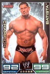 Slam Attax #012 Batista Champion