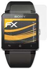 3x FX-Antireflex Schutzfolie Sony SmartWatch 2 Displayschutzfolie Folie