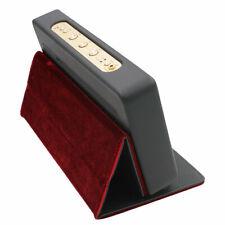 Foldable Standable Case for Marshall Stockwell Spleaker Bluetooth Speaker Black