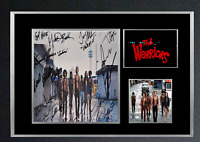 THE WARRIORS MOVIE AUTOGRAPHED MOUNTED PRINT