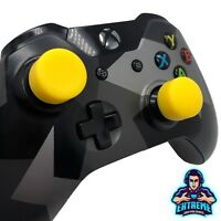 YELLOW Analog Thumb Stick Cover Grip Caps Extenders for Xbox One XB1 Controller