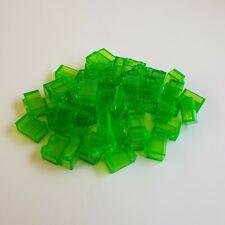 Lego® 10 x Basic Stein 1x2 transparent rot #3065 3004
