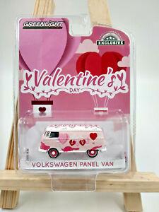 Volkswagen bus combi type 1 spécial saint valentin échelle 1:64,neuf, Greenlight