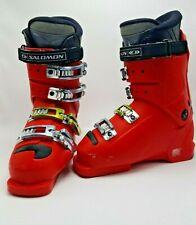 Salomon Snowboard Boots Mens US 5 Go Red Carbonlink Course T Flex RED Ski Boots