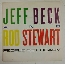 "Jeff Beck & Rod Stewart People Get Ready Single 7"" España 1985"