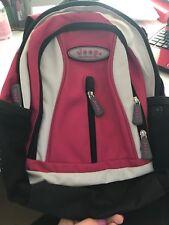 Ladies JEEP Backpack School Bag Hiking Rucksack,Cream,Hot Pink, Black