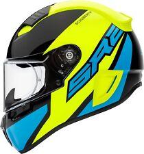 Casco de Moto Schuberth SR2 Wildcard Yellow Color: Negro/Amarillo/Azul Gr: 55