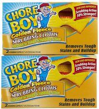 Chore Boy Golden Fleece Scrubbing Cloths 12-2pk (24 Pads) 30316