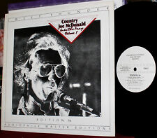 SWEET THUNDER LP Edition 16: Country Joe McDonald, Into The Fray Vol 1, 1982 USA