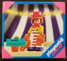 1999 Vintage playmobile Special #4566 Felix Circus Clown MIB