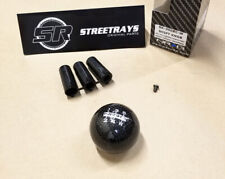 NRG Shift Knob Ball Style Black Carbon Fiber (Heavy Weight) Universal 5-Speed