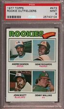 1977 Topps #473 ANDRE DAWSON RC HOF PSA 9 MINT 25743104 Expos Cubs