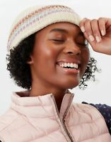 Joules Womens Vinnie Beanie Knitted Hat - Oat - One Size