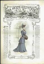 La Mode Illustrée N°47 - 19/11/1905 - Sans Patron - Modèle High Life Tailor