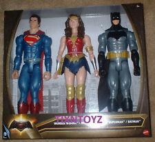 BATMAN v SUPERMAN Collection_SUPERMAN_WONDER WOMAN_BATMAN 12 inch figures_3 Pack