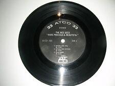 """RARE Sampler 7""""  BEE GEES  """"Rare Precious & Beautiful"""" 6 Songs  ATCO  VG+"""