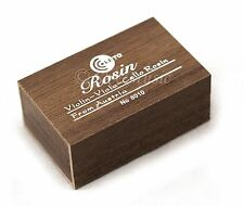 Leto Wooden Case Rosin for Violin, Viola, Cello 8010 Rosin New High Quality
