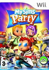 MySims My Sims Party Nintendo Wii PAL Brand New Factory Sealed