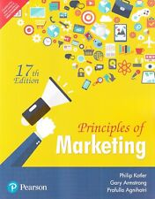 Principles of Marketing for (2018-2019 Session) 17th Edition by Philip Kotler