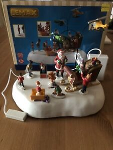 Lemax Christmas Village Jolly Toys Animated Table Accent B/O(4.5V) #04723