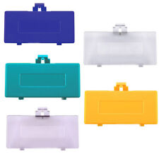 5 Colors Repair Parts Plastic Battery Cover Door For Game Boy Pocket 1pc