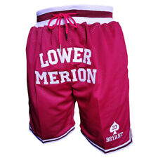 Kobe Bryant Shorts #33 Lower Merion high School Basketball Shorts Stitched Pants