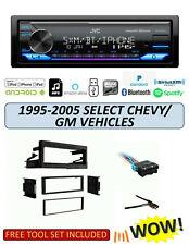 JVC KD-X370BTS Stereo Kit for Select 1995-2005 GMC CHEVROLET Vehicles ALEXA XM