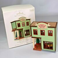 Hallmark Keepsake Ornament Nostalgic Houses & Shops DON'S NURSERY #25 2008