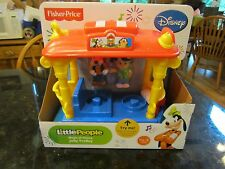 Fisher Price Little People NEW Disney carriage Jolly Trolley Goofy Train car