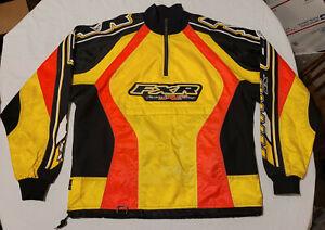 FXR Factory Racing Mens Jacket FJR22 Shell Yellow Size L/G