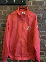 Rare Vintage San Francisco 49ers NFL Football Light Jacket Windbreaker Size L