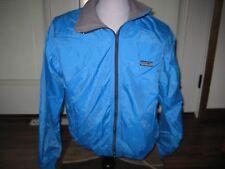 Vintage Patagonia Ski Jacket Full Zip Teal Womens L 13/14 USA MADE Fleece Lining