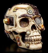 Steampunk Totenkopf mit Geheimfach - Figur Schädel Skull