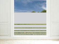 Sichtschutzfolie Streifen unten Fensterfolie Glasdekorfolie Blickdicht 57cm hoch