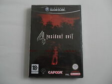 Resident Evil 4 NEW SEALED (PAL) Nintendo Gamecube NGC Complete in box CIB OVP