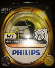 PHILIPS H7 YELLOW COLOR VISION H7 COLOUR VISION PHILIPS YELLOW BULBS