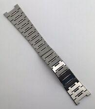 Authentic Bvlgari BB P0 2.99 19.50mm Stainless Steel Bracelet OEM