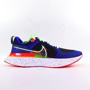 Nike React Infinity Run Flyknit 2 KA Running Shoes Obsidian CZ3602 400 Mens 9