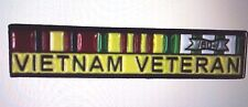 Vietnam Veteran Ribbon Hat Pin