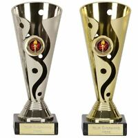 Engraved Trophy Cup - Carnival Presentation, Sports Trophies & Awards, 15-19cm
